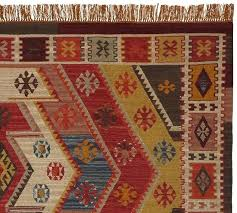 indoor outdoor kilim rug recycled yarn indoor outdoor rug warm multi pottery barn rosario kilim recycled