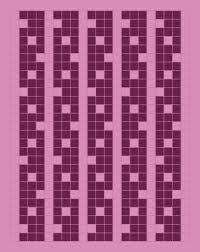 Some Random Mosaic Knitting Charts String Geekery