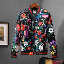 gucci jacket gucci windbreaker gucci flower coat gucci men s clothes 3