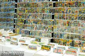 a comic festival with plenty of comic books