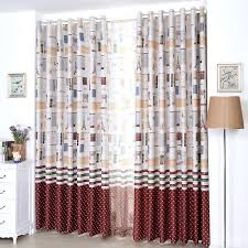 image of dorothys country ruffled curtains