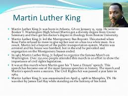 on martin luther king jr essays on martin luther king jr