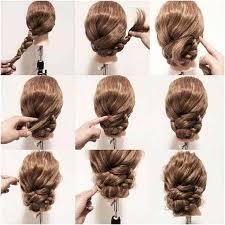 Chignon Simple Et Rapide Pour Cheveux Mi Long Génial Chignon