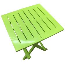 picture of rondeau arondeck plastic folding garden table