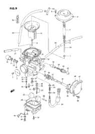 1995 suzuki king quad lt f4wdx oem parts babbitts suzuki partshouse carburetor