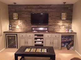 rec room furniture and games. i reused old kitchen cabinets to add storage for our game room did butcher block rec furniture and games