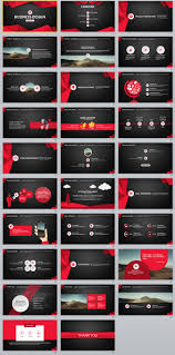 Powerpoint Themes Red Magdalene Project Org