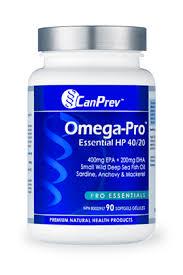 <b>Omega</b>-Pro™ Essential HP 40/20 - CanPrev <b>Premium</b> Health Products