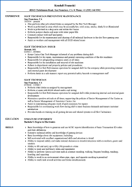 supply technician resume sample slot technician resume samples supply technician resume sample