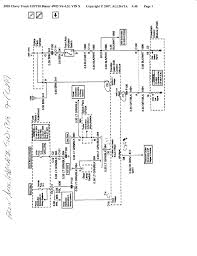 2001 chevrolet s10 wiring diagram wiring diagrams 2001 chevy s10 wiring diagram diagrams