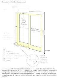 Sliding Door Measurements Firststepmarketing Co
