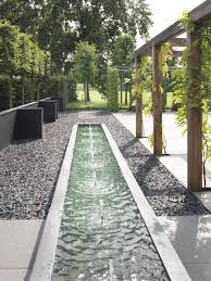 Modern Water Features Kingbird Design Llc Concrete Fountain Design Landscape