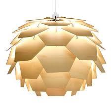 modern pendant light fixtures panel simple. Modern Pendant Light Fixtures Panel Simple. Designer Style Layered  Wood Artichoke Ceiling Simple R