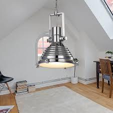 prevnav nextnav retro ceiling lamp harmon pendant light chrome finish silver