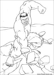 This boss has one mission on. Drawings To Paint And Hulk Coloring Print Design 033