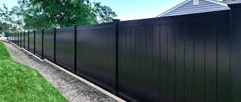 black vinyl privacy fence. Black Vinyl Fence Contemporary Design With Fencing Decorations . Privacy F