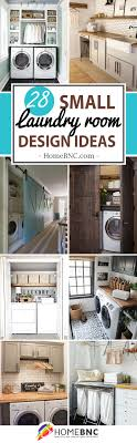 Brilliant small functional laundry room decoration ideas Dryer 28 Stylish Small Laundry Room Design Ideas To Inspire You Homebnc 28 Best Small Laundry Room Design Ideas For 2019