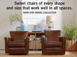 Leather Occasional Chairs  Pottery BarnLeather Chairs Living Room