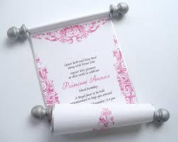 Scroll Birthday Invitations 28 Make Your Own Scroll Invitations Best 25 Scroll Wedding