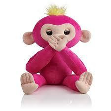 Amazon.com: Fingerlings HUGS - Bella (Pink) - Advanced Interactive ...
