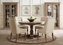 rustic yet elegant this avondale dining room speaks to understated beauty havertys