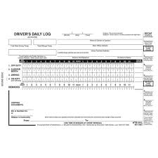 Drivers Log Book Sample Drivers Daily Log Books