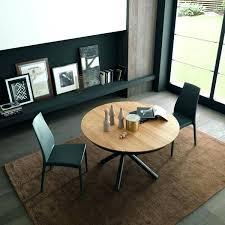 plexus round expanding dining table expandable extendable glass india