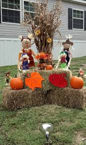 Fall Yard Display Ideas Best 25 Outside Fall Decorations Ideas On Pinterest  Fall New