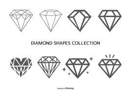 ダイヤモンドシェイプコレクションfree イラストfree Download