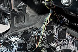 american autowire install lowrider magazine after initially routing our wiring through the