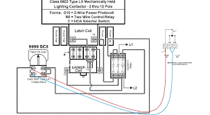 lighting contactor wiring diagram carlplant simple a for ac