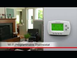 honeywell wifi 9000 rth9580wf color touchscreen thermostat manual p