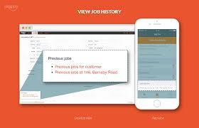 job management features invoicing tracking app okappy job mgmt job history