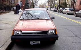 THE STREET PEEP: 1984 Toyota Tercel 2 Door