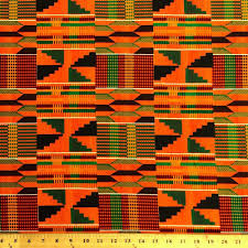 African Pattern Fabric