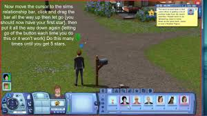 five star celebrity cheat for sims 3 high relationship point