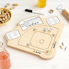 Wooden Baseball Game Toy Baseball Game Wooden baseball board game UncommonGoods 13