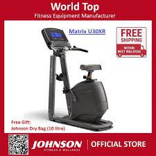 johnson fitness matrix u30xr upright bike