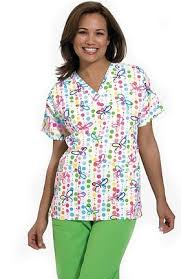 Patterned Scrubs