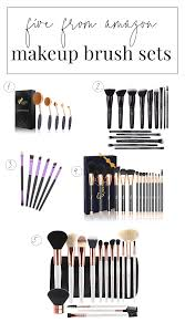 the best most affordable makeup brush sets on amazon