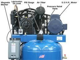 atlas® air force af8plus 2 stage 5 220v single phase air atlas® air force af8plus two stage 5 hp commercial grade 220v single phase 80 gallon