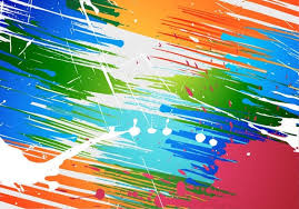 paint brush background. Simple Brush Abstract Brush Paint Splashes Vector Background Throughout