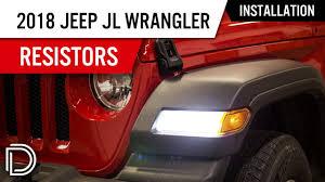 Jeep Jl Led Fender Lights How To Install Resistors For 2018 Jeep Jl Wrangler Led Turn Signals Diode Dynamics