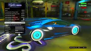 Test Paint Color Online Gta 5 Online Secret Car Colors Tron Secret Goldgalaxy More