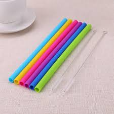<b>2pcs</b> Cleaning Brushes 6x Reusable <b>Food Grade Silicone</b> Drinking ...