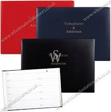 Address Telephone Book Address Telephone Book Desk Landscape 215x157mm Wholesale