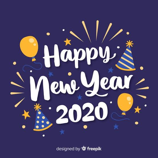 Ilustrasi Tahun Baru 2020