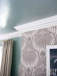 crown molding materials and installation can be costly instead go with less expensive wainscoting or chair rail if you just can t live without crown