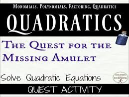 quadratic equations mixed practice and review quadratic equations activity by docrunning teaching resources tes