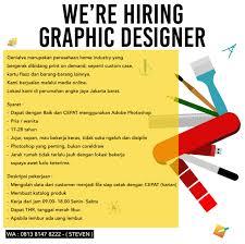 Graphic Designer Adalah Lowongan Kerja Graphic Designer Lokerjakarta Id